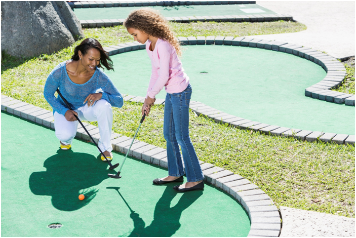 Create an excellent Backyard miniature golf course