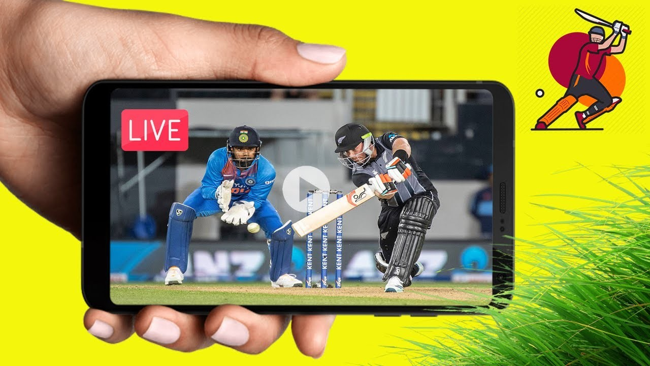 Watch Live cricket on your Mobile Phone on the go at anytime
